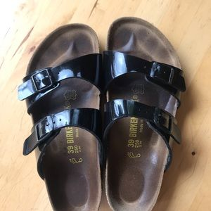 Birkenstock's Arizona sandals.